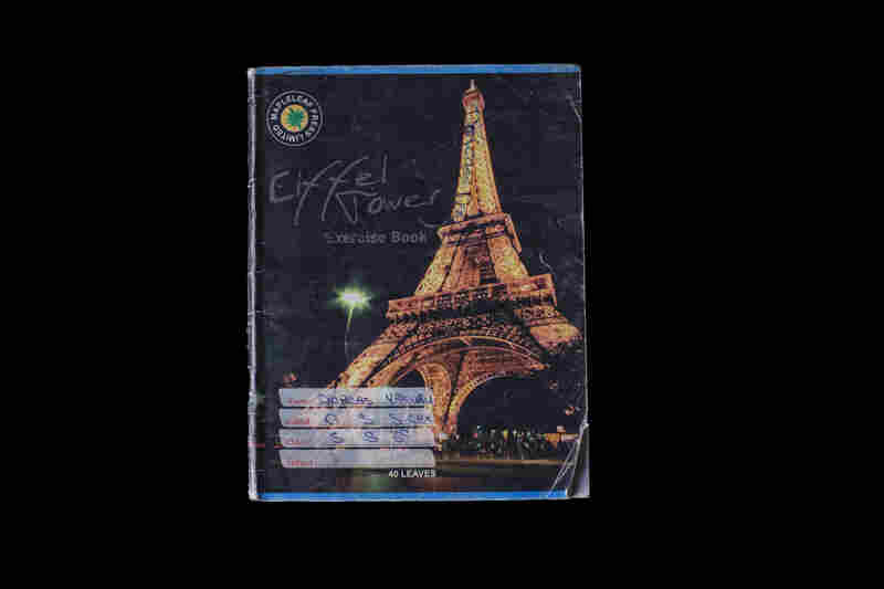 "Of all her photos, Gordon was most attached to the images of 16-year-old Dorcas's notebook: ""The Eiffel tower is on front. I don't even know if she knew what the Efifel tower is."""