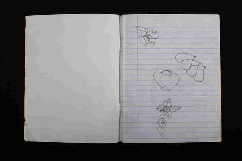 "The hearts in her notebook touched Gordon deeply. ""Those hearts show she's such a little girl. I drew hearts in my notebook. I still draw hearts. That made her really human to me."""