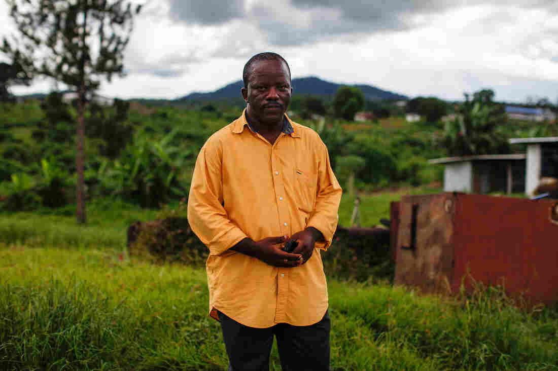 Dr. Gabriel Logan is one of two doctors at the Bomi county hospital, which serves a county of 85,000 people. In a desperate attempt to save Ebola patients, he started experimenting with an HIV drug to treat them.