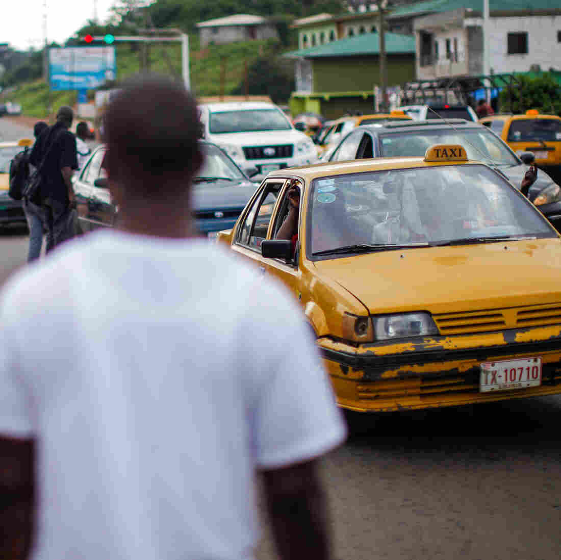 A Ride In Monrovia Means Wrestling With Ebola