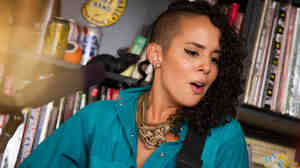 Tiny Desk Concert with Raquel Sofia on September 19, 2014.