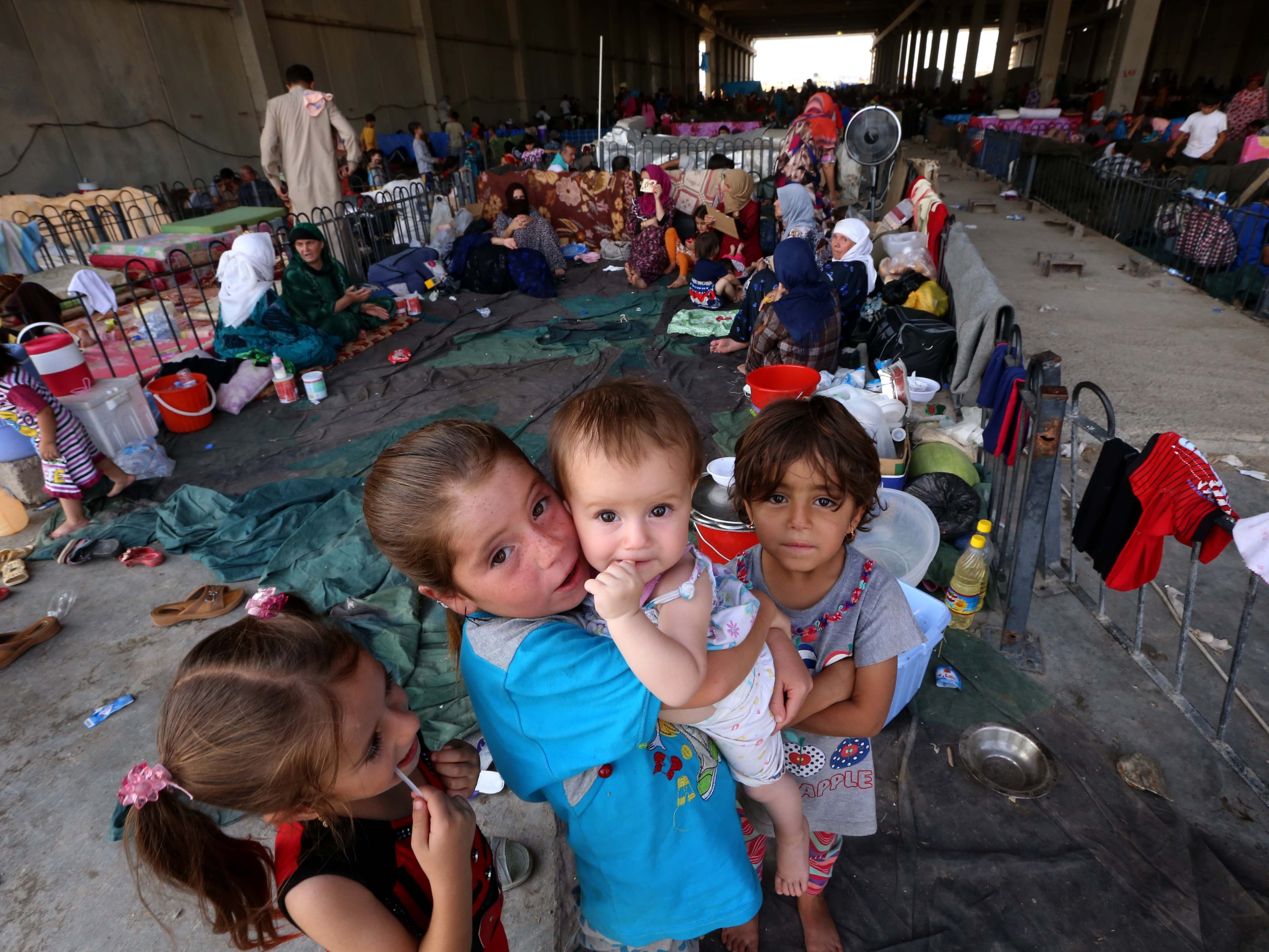 Iraqis Displaced By ISIS Face Another Threat: Winter