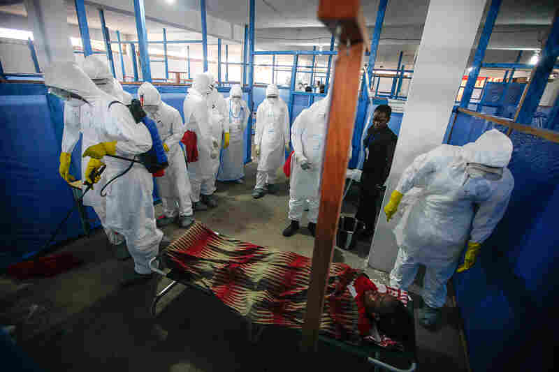 President Obama has announced plans to build 17 new Ebola treatment units in Liberia. Those new medical facilities will require thousands of additional workers who are trained and willing to work in them.