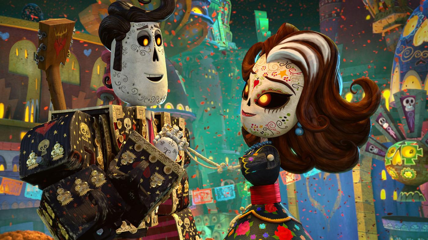 Animated Book Of Life Celebrates Dia De Los Muertos Code Switch NPR