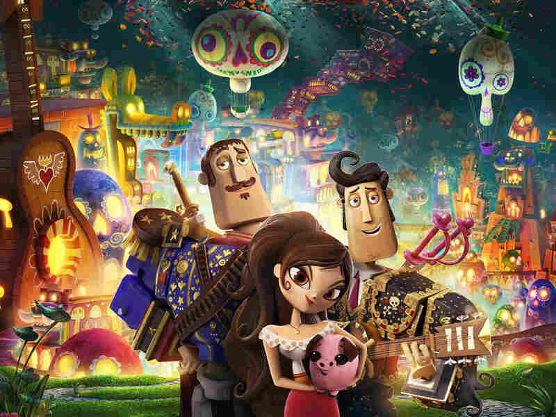Book Of Life is animator Jorge Gutierrez's first feature film.