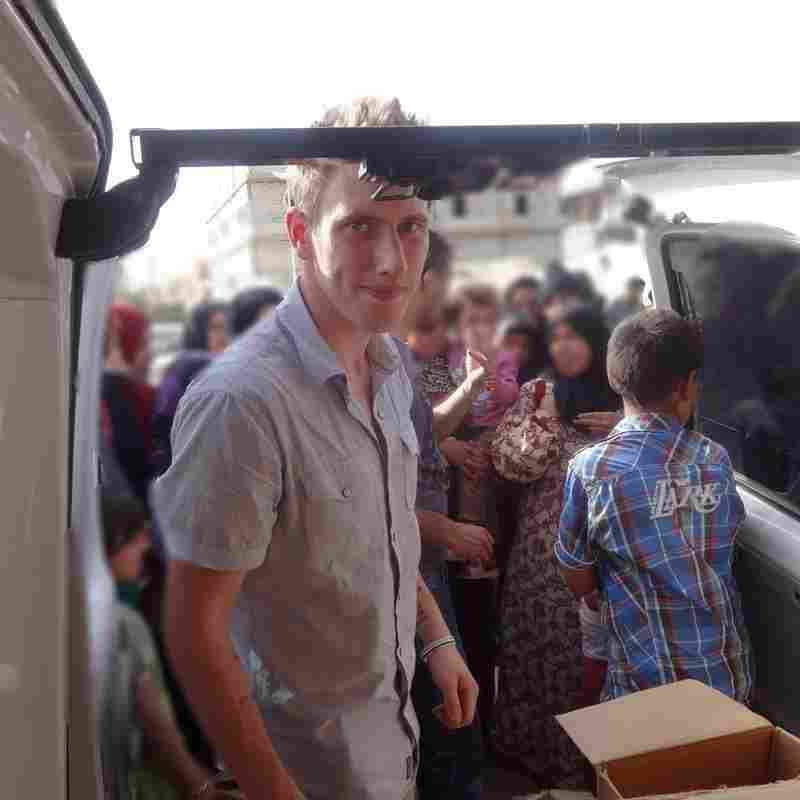 For U.S. Soldier Turned Aid Worker, The Goal Was To Help Syrians