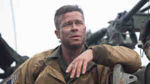 Brad Pitt plays Wardaddy, an Army sergeant leading a mission in Nazi Germany.