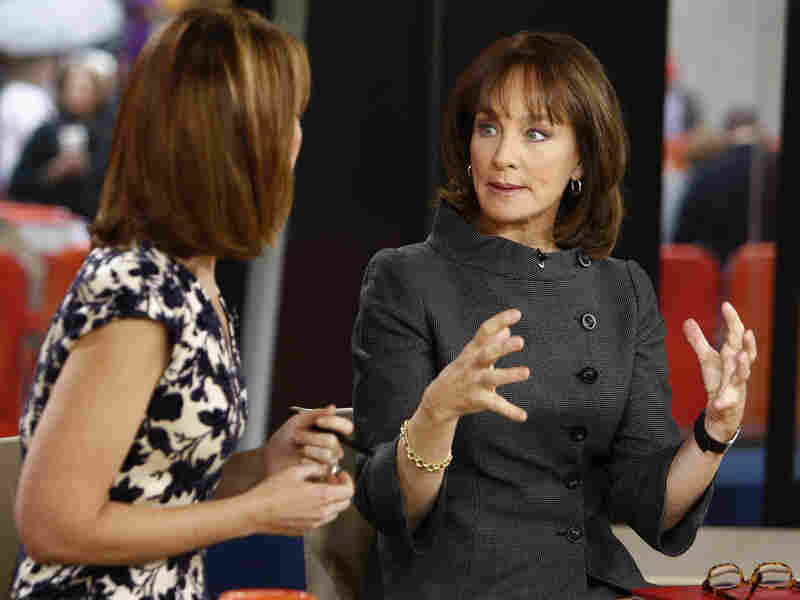 "Dr. Nancy Snyderman, left, with Savannah Guthrie on the ""Today"" show."