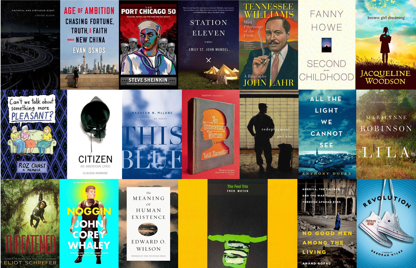 Get To Know The Finalists For The 2014 National Book Award