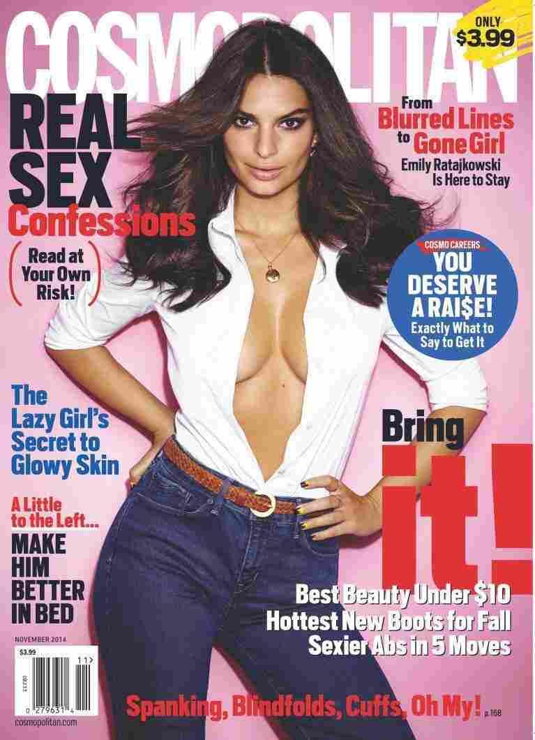 The November issue of Cosmopolitan magazine.
