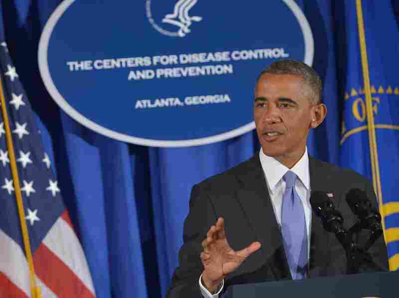 President Obama spoke Tuesday about the U.S. plan to fight the Ebola epidemic in West Africa, speaking at the Centers for Disease Control and Prevention. The White House plan reportedly includes deploying 3,000 U.S. military personnel and training health care providers in Liberia.