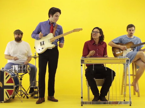 """Steelism parodies educational science videos of yore in its playful video for """"Marfa Lights."""""""