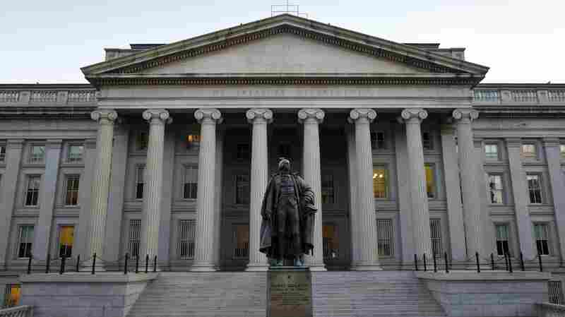 The U.S. Treasury in Washington, D.C.