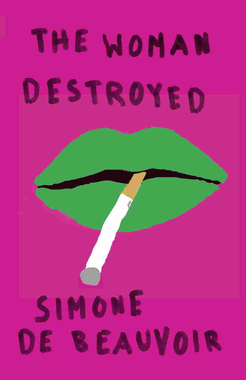 "Mendelsund says his cover for Simone de Beauvoir's The Woman Destroyed ""is as close as I've ever come to a jolie laide cover — and I love it for that reason."""