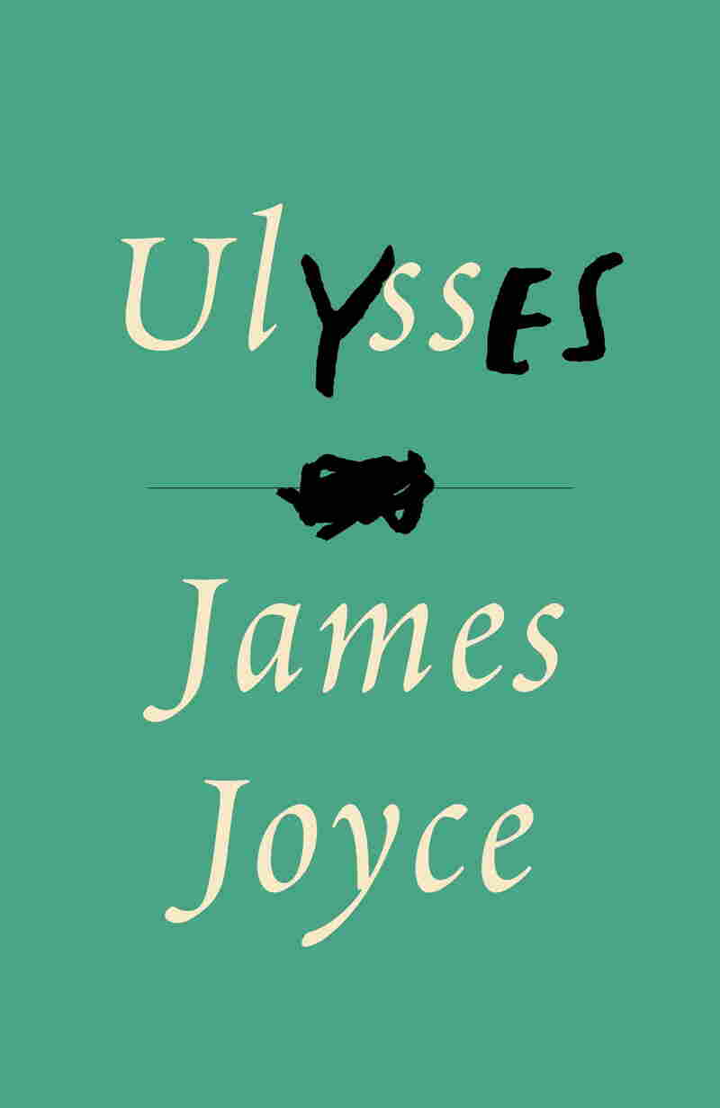 "This passage from Ulysses inspired Mendelsund's cover for the James Joyce classic: ""I put my arms around him yes and drew him down to me so he could feel my breasts all perfume yes and his heart was going like mad and yes I said yes I will Yes."""