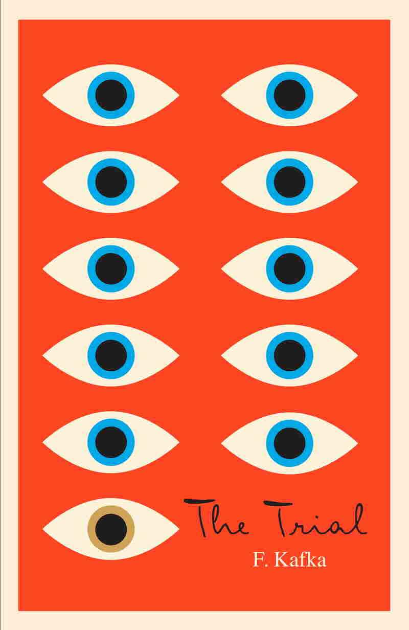 """Mendelsund's use of the eye as the motif for his Kafka covers can be read as illustrating the famous Kafkaesque paranoia, but I believe that is only the most obvious level on which they work,"" says author Jane Mendelsohn. ""Each one is a poem. Look at them closely."""