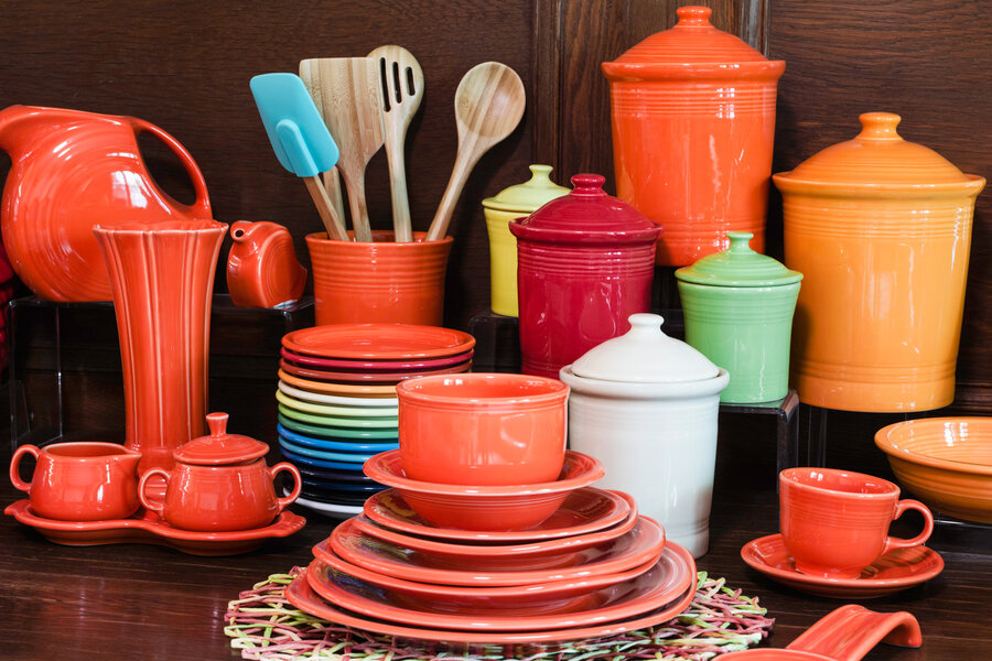 Pottery Company Keeps Popular Fiesta Line Thriving & W.Va. Pottery Company Keeps Popular Fiesta Line Thriving : NPR