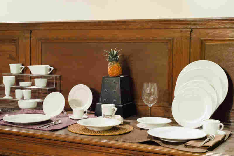 Though more eye-catching, Fiesta only accounts for half of Homer Laughlin's business. Sturdy china for high-volume use at restaurants, hotels and even the U.S. military makes up the other half.
