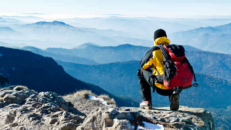 Mountain climber.