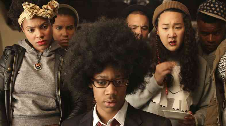 Tyler James Williams (Everybody Hates Chris) plays Lionel Higgins in Dear White People