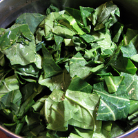Collard greens can grow year round in East Africa's tropical heat.