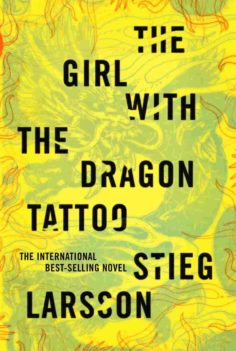 """My first inclination was to use the colors of a tattoo,"" Mendelsund explains of his Girl with the Dragon Tattoo jacket, ""but brighter colors won the day."""