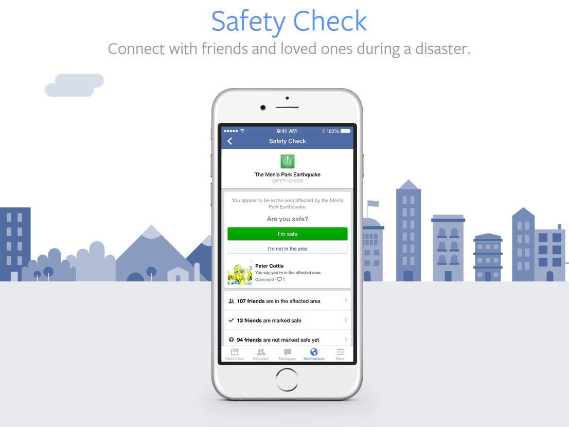 When Disaster Strikes, Facebook Lets Friends Know You're ...