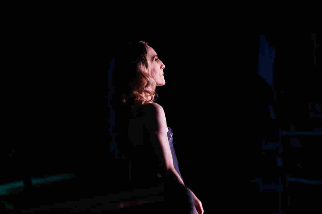"""Whelan prepares for one of her last performances of """"After the Rain,"""" choreographed by Christopher Wheeldon and performed with her longtime partner Craig Hall."""
