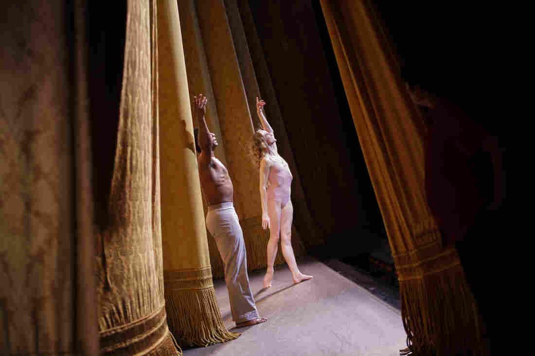 Whelan and Hall take their curtain call.