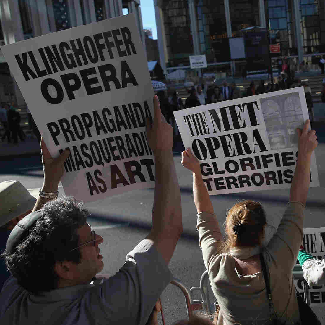 Twenty Years Later, 'Klinghoffer' Still Draws Protests