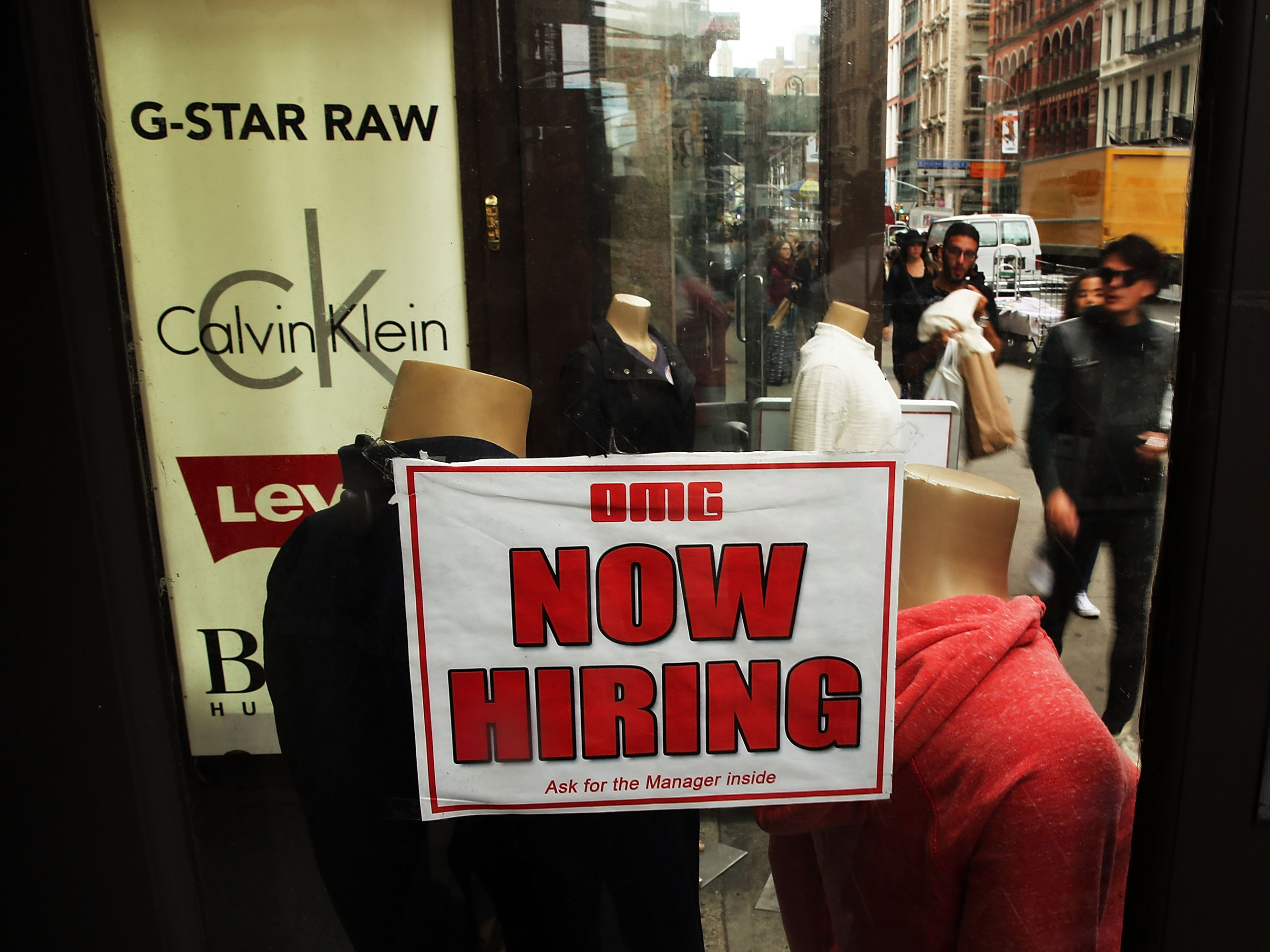 A notice in a store window in New York City announces a retail job opening. Now that unemployment has slipped below 6 percent, there's renewed interest in what the Federal Reserve's target for joblessness should be.U.S. Unemployment Rate (Sept.)A notice in a store window in New York City announces a retail job opening. Now that unemployment has slipped below 6 percent, there's renewed interest in what the Federal Reserve's target for joblessness should be.U.S. Unemployment Rate (Sept.)