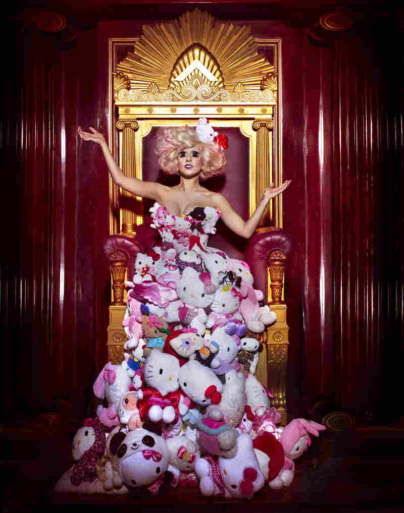 Hello Kitty x Lady Gaga Plush Dress, 2009