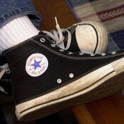 Nike-owned Converse, the company responsible for the Chuck Taylor All Star shoe, is suing to stop other shoemakers from copying what it says are distinctive elements of its design.