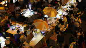 An Urban Village Pops Up To Comfort Hong Kong Protesters