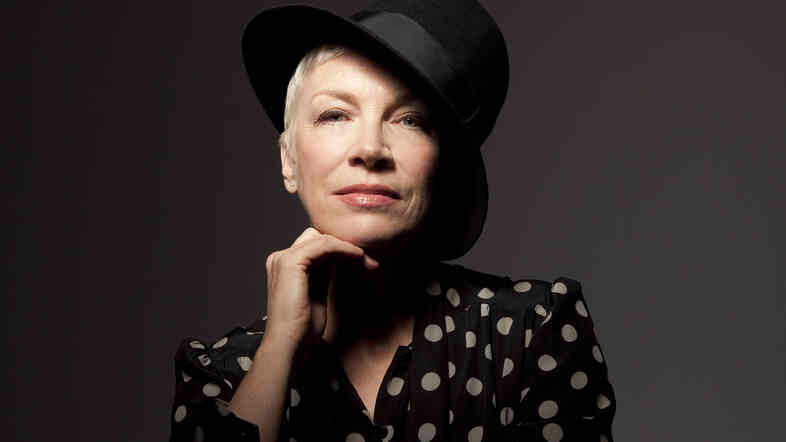 Annie Lennox's new album is titled Nostalgia.