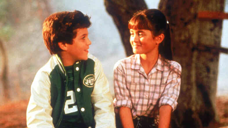 On The Wonder Years, Kevin Arnold (Fred Savage) had a crush on his neighbor Winnie Cooper (Danica McKellar).