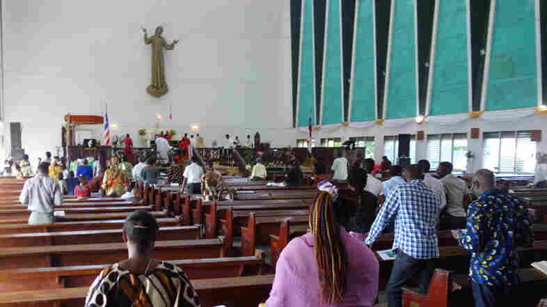 Church services are becoming pivotal in the fight against Ebola.