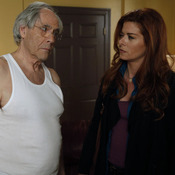 Debra Messing stars with Robert Klein in NBC's The Mysteries of Laura.