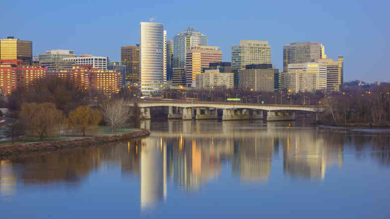 The Washington, D.C., suburb of Arlington, Va., was dubbed a top destination for millennials this year.