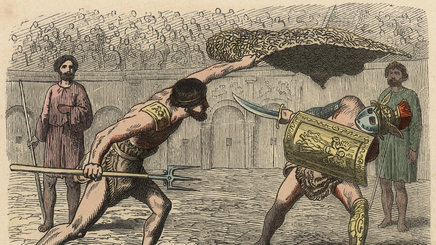 Do You People Think Our Government Should Bring Back Gladiatorial Combat?