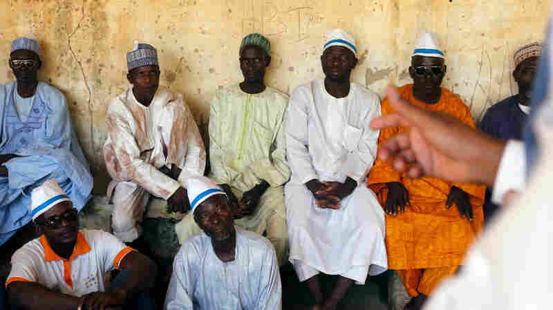 They're participants in Niger's School for Husbands.