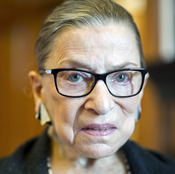 "In her revised dissent, Justice Ruth Bader Ginsburg clarified that photo ID cards issued by the Veterans' Affairs are ""an acceptable form of photo identification for voting in Texas."""
