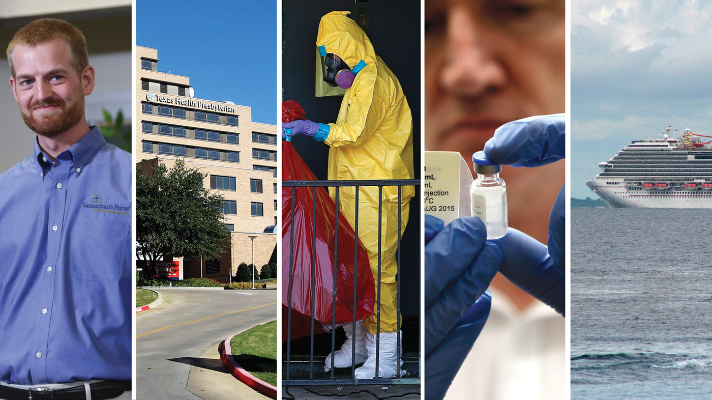 Ebola In The United States: What Happened When : Shots - Health News