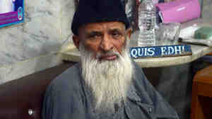 Abdul Sattar Edhi, 86, is an iconic figure in Pakistan who founded and runs the country's best-known cha