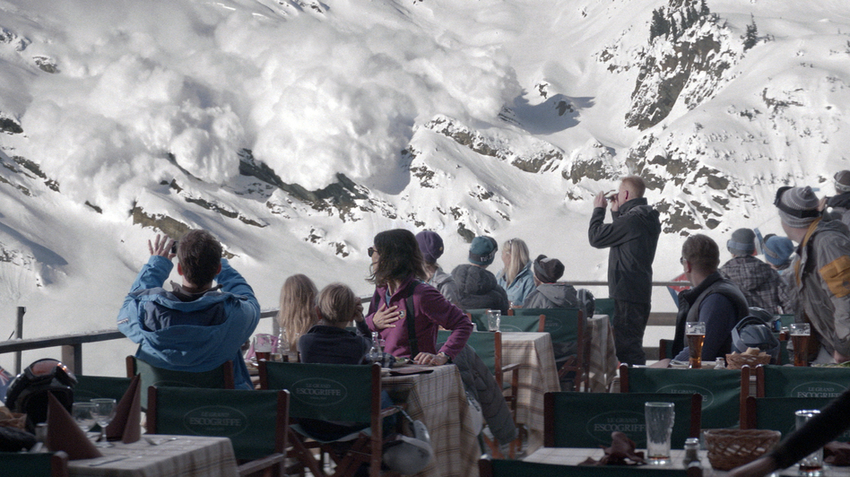 <em>Force Majeure</em> follows the aftermath of a split-second decision made by a father during an avalanche. (Magnolia Pictures)