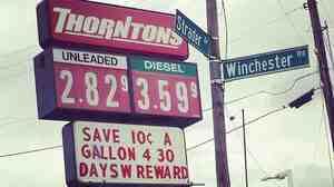 Macy Gould shared this photo from Lexington, Ky., where the gas prices are under $3.