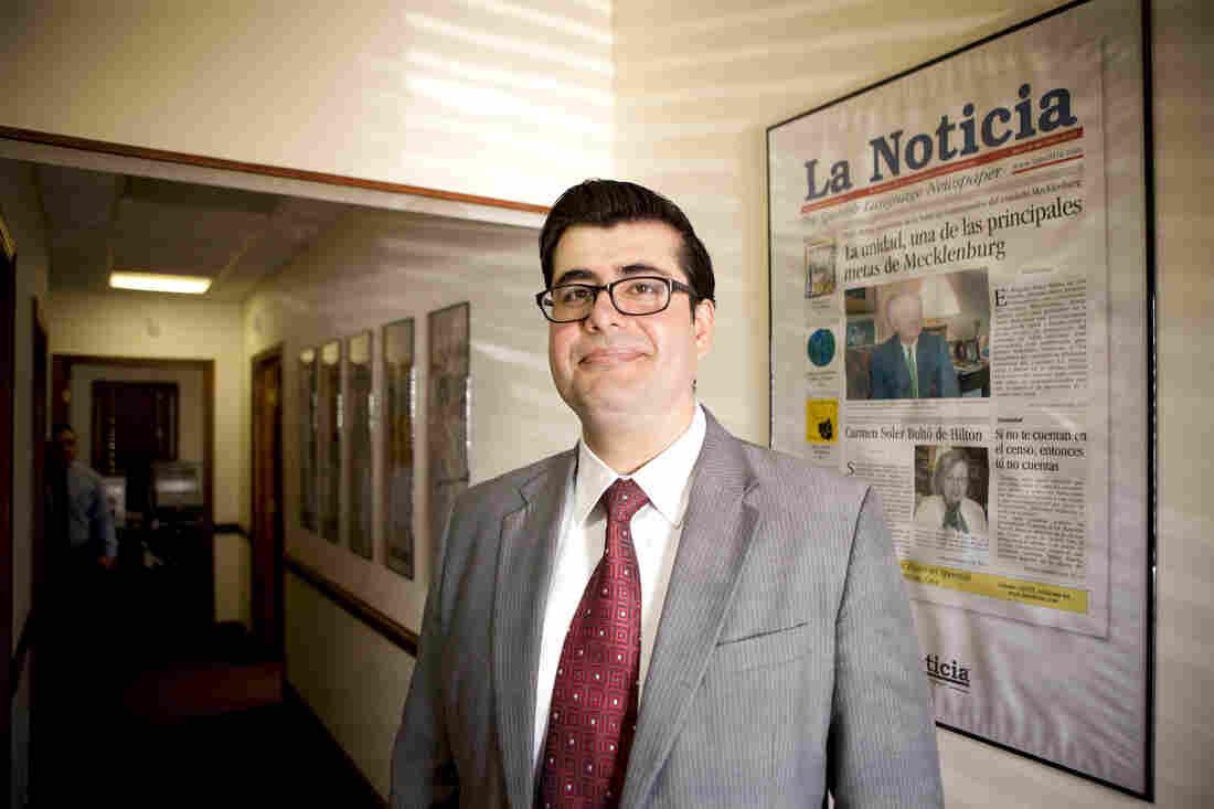 Diego Fernando Barahona Andrade is the editor of La Noticia, North Carolina's oldest Spanish-language newspaper.