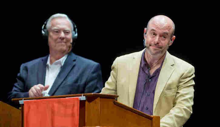 Bill Kurtis and Peter Sagal