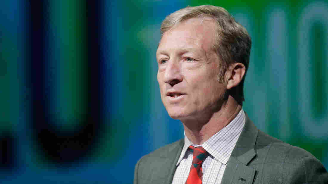 """Tom Steyer recently said in a video that """"climate change is not just an important issue, it's the issue. And we need leaders who will take it seriously."""""""