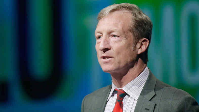 "Tom Steyer recently said in a video that ""climate change is not just an important issue, it's the issue. And we need leaders who will take it seriously."""